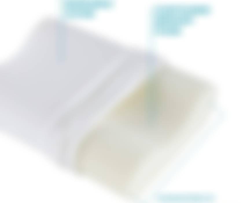 Pillow #2: Contour Memory Foam Pillow